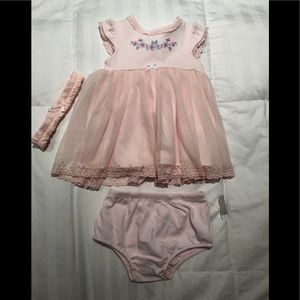 Little Me baby girl dress size 3 months